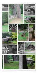 Mabry Mill Bath Towel by Eric Liller