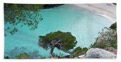 Macarelleta Turquoise Jewell By Pedro Cardona Hand Towel