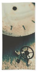 Machine Time Bath Towel