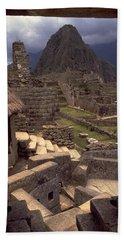 Machu Picchu Bath Towel by Travel Pics