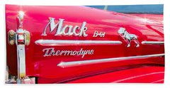 Mack Truck Hood Badges Bath Towel