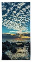 Mackerel Sky Hand Towel