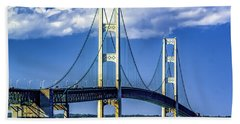 Mackinac Bridge Bath Towel