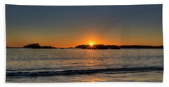 Mackinsie Beach Sun Burst Bath Towel