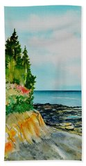 Mackworth Island Maine  Hand Towel