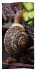 Macro Snail Hand Towel