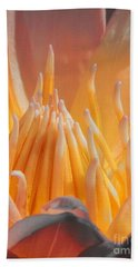 Macro Water Lily Hand Towel