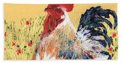 Mad Max With Poppies Hand Towel by Laura Gabel