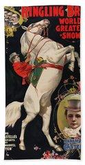 Madam Ada Castello Poster 1899 Bath Towel