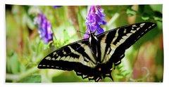 Madam Butterfly Hand Towel