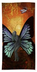 Madame Butterfly Hand Towel