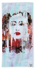 Madame Chans Mirror Hand Towel by Roberto Prusso