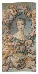 Madame De Pompadour Bath Towel