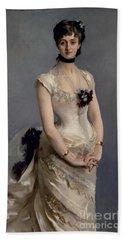 Madame Paul Poirson Hand Towel
