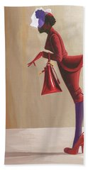 Madame Rouge Hand Towel