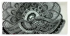The Magnificent Peacock Hand Towel