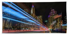 Hand Towel featuring the photograph Mag Mile Warp Speed by Sean Foster
