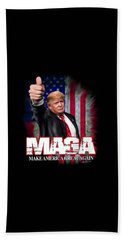Hand Towel featuring the photograph Maga by Don Olea