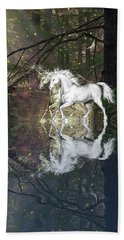 Bath Towel featuring the photograph Magic by Diane Schuster