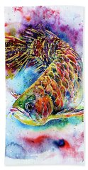 Magic Of Arowana Hand Towel