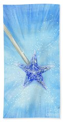 Hand Towel featuring the painting Magic Wand by Cindy Garber Iverson