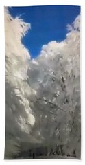 Magic Winter Bath Towel by Colette V Hera Guggenheim