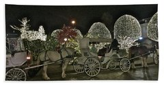 Magical Carriage Ride Hand Towel
