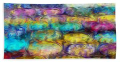 Bath Towel featuring the digital art Magical Dreams  by Riana Van Staden