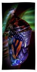 Magical Monarch Bath Towel by Karen Wiles