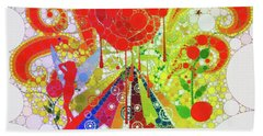 Magical Mystery Tour Hand Towel