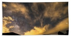 Bath Towel featuring the photograph Magical Night by James BO Insogna