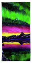 Magical Night Meditation Bath Towel