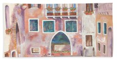Magical Venice Hand Towel