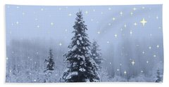Magical Winterscape Hand Towel