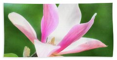 Magnificent Daybreak Magnolia At Day's End Bath Towel
