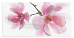 Magnolia Is The Harbinger Of Spring. Hand Towel