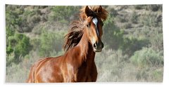 Magnificent Mustang Wildness Bath Towel