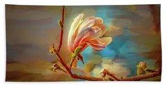 Magnolia Abs #h4 Hand Towel