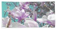 Magnolia Charm Hand Towel