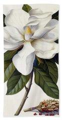 Magnolia Grandiflora Bath Towel