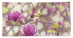 Hand Towel featuring the photograph Magnolia by Melanie Alexandra Price