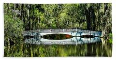Magnolia Plantation Bridge - Charleston Sc Hand Towel