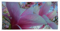 Magnolia Time Bath Towel