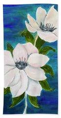 Magnolias Hand Towel
