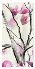 Magnolias In Bloom Hand Towel