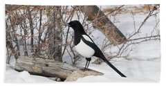 Magpie - 6892 Hand Towel