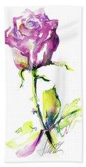 Maiden Rose Hand Towel