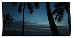 Ma'ili Beach After Sunset Hand Towel