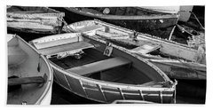 Bath Towel featuring the photograph Maine Boats by Ranjay Mitra