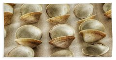 Maine Clam Shells Hand Towel